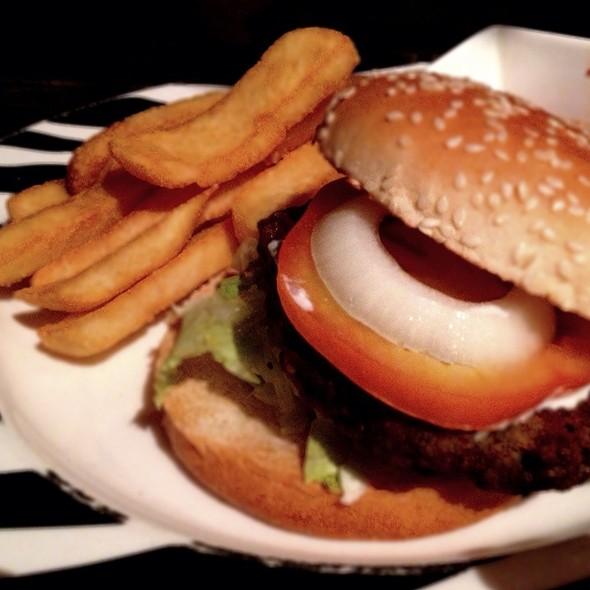 Safari Lamb Burger @ Bongo Burgers