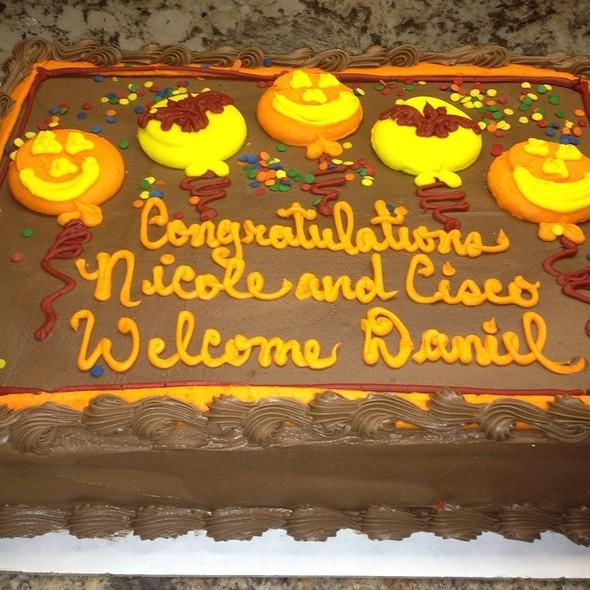 Babyshower Cake @ Ciscos