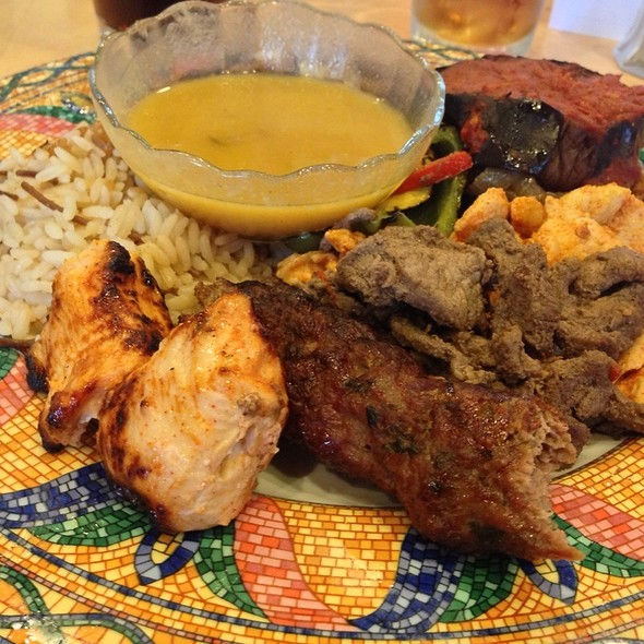 Sampler Lunch Special - Cleopatra Restaurant, High Point, NC