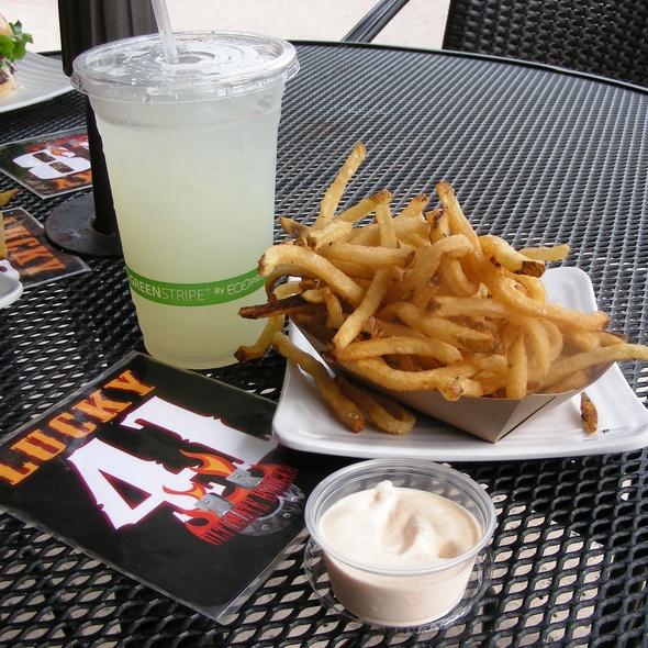 Big Daddy Fries w/ House Made Aioli @ Ultimate Burger