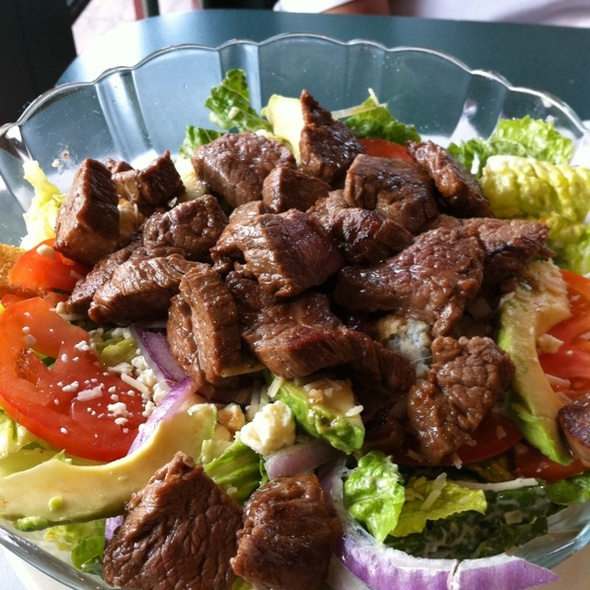 Flank Steak Caesar Salad @ Pete's Brass Rail & Car Wash
