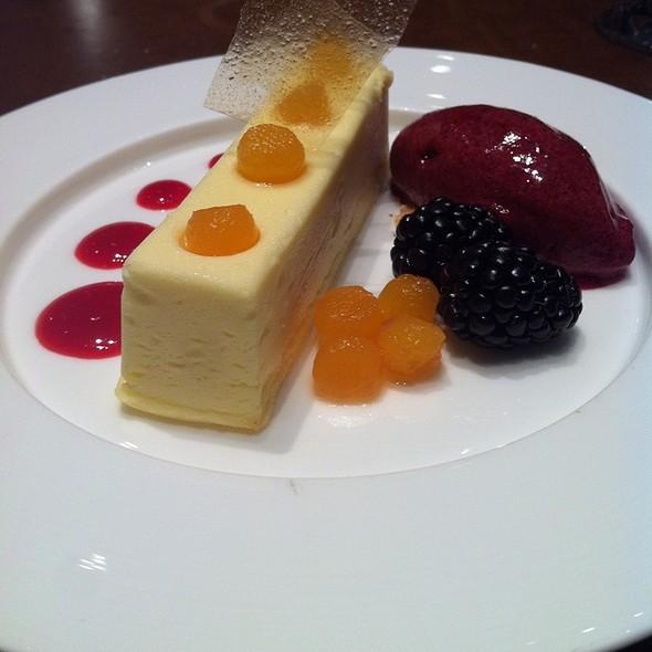 Creme Fraiche Cheesecake - SOUTHGATE Bar & Restaurant, New York, NY