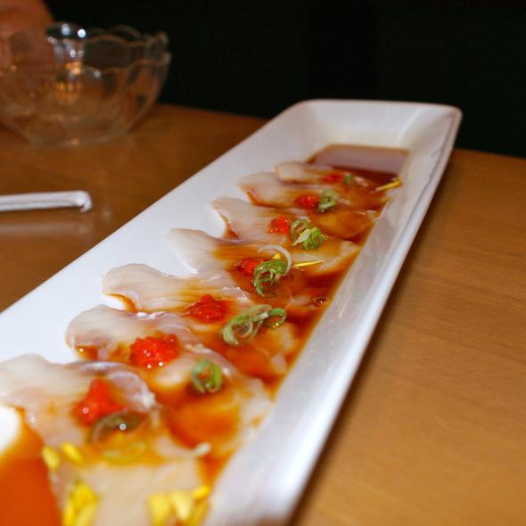 Fluke Sashimi @ Aoyama Sushi Restaurant