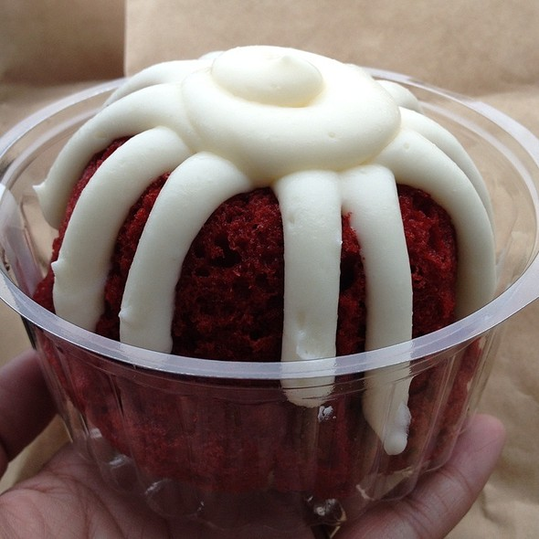 Red Velvet @ Nothing Bundt Cakes