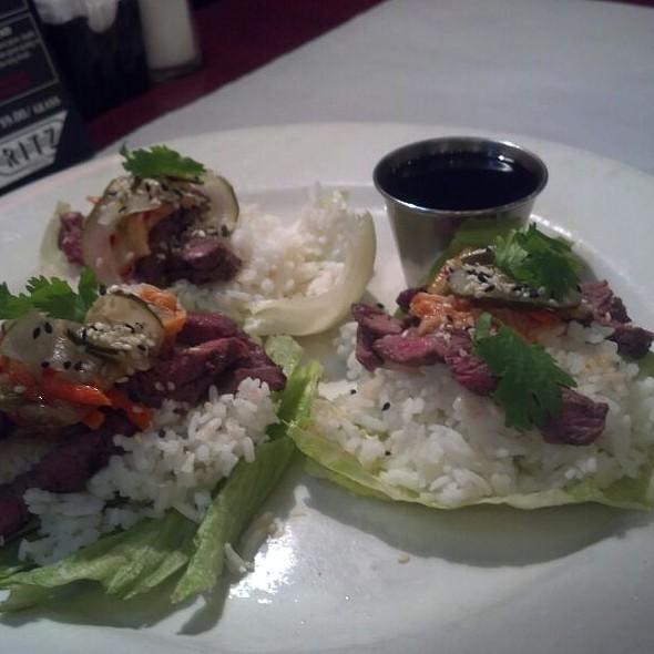 Korean Bulgogi Beef Lettuce Wraps - Ritz Grill, Colorado Springs, CO