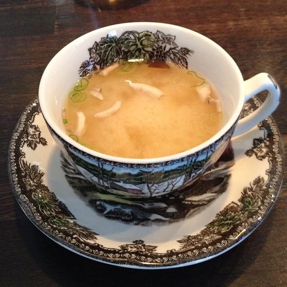 Miso Soup @ Yashin Sushi