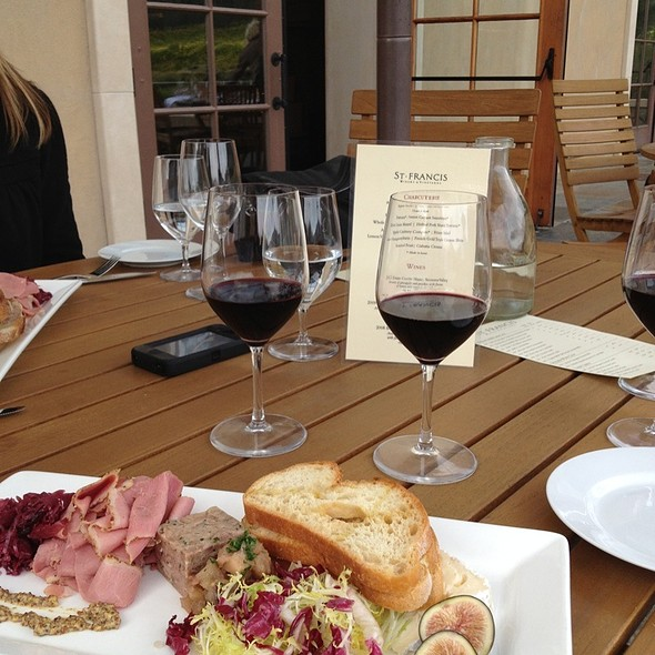 charcuterie - St. Francis Winery & Vineyards, Santa Rosa, CA