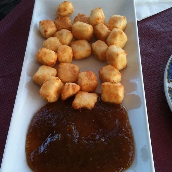 Queso De Cabra Frito Con Marmelada De Higos @ El Charcón