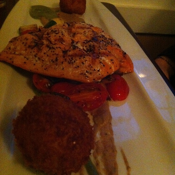 Grilled Salmon - The Stone House, Redmond, WA