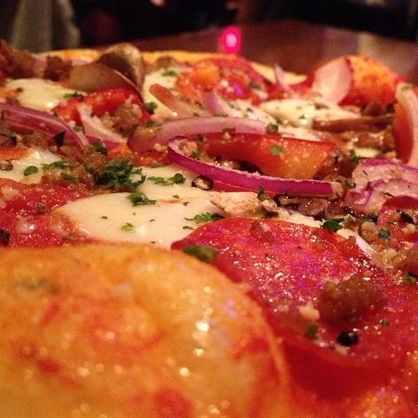 Italian Pizza - Rock Bottom Brewery Restaurant - Denver, Denver, CO