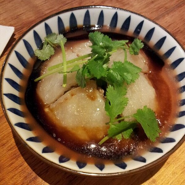 Shredded Pork, Bamboo Shoots wrapped in Sticky Rice @ Accord Food House