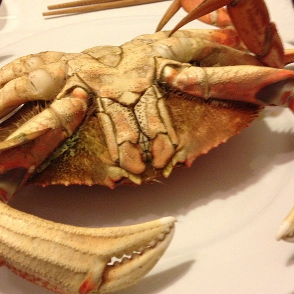 Steamed Crab @ Josh & Diana's Home