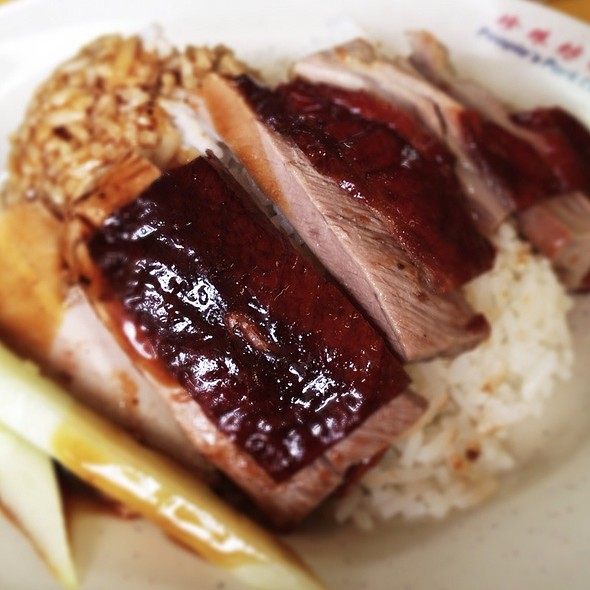Roasted Duck and Rice @ Chinatown Food Centre