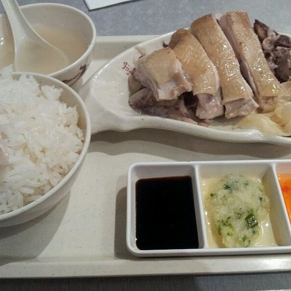 Hainanese Chicken Rice @ Cafe Mi