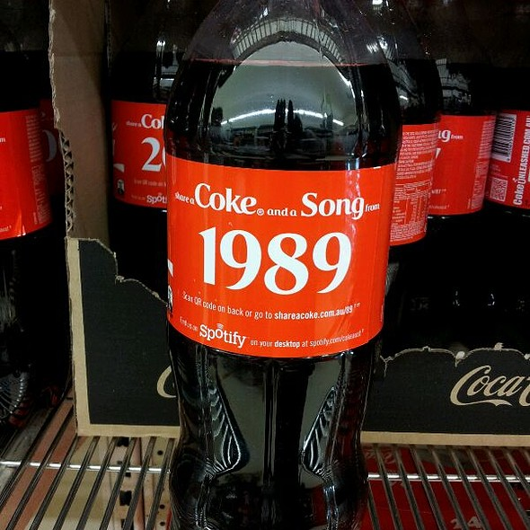 Coke @ Kiko's Dream Palace