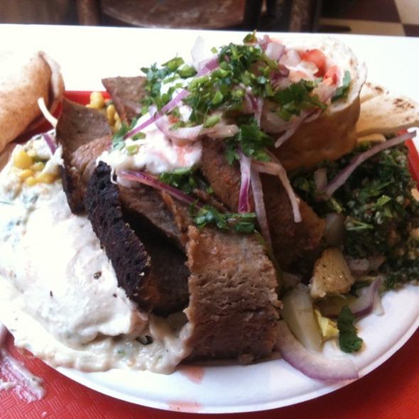 Gyro Plate @ Krivaar Cafe