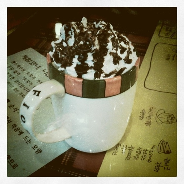 Hot Chocolate @ Fiore Cafe