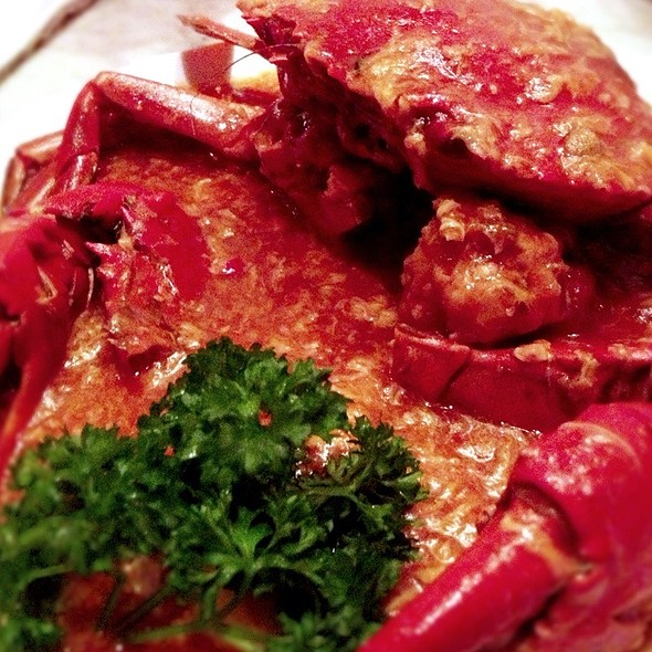 Singapore Chilli Crab @ The Singapore Heritage Restaurant