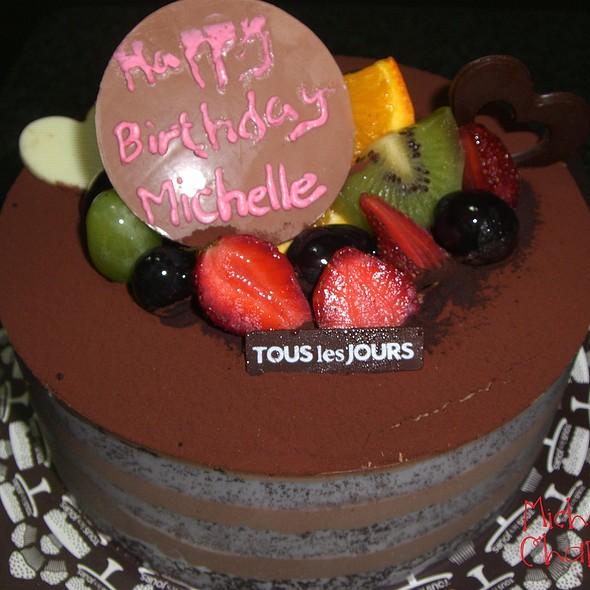 Birthday cake @ Tin Pan Alley