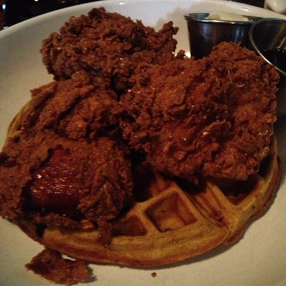 Chicken & Waffles @ Front Porch