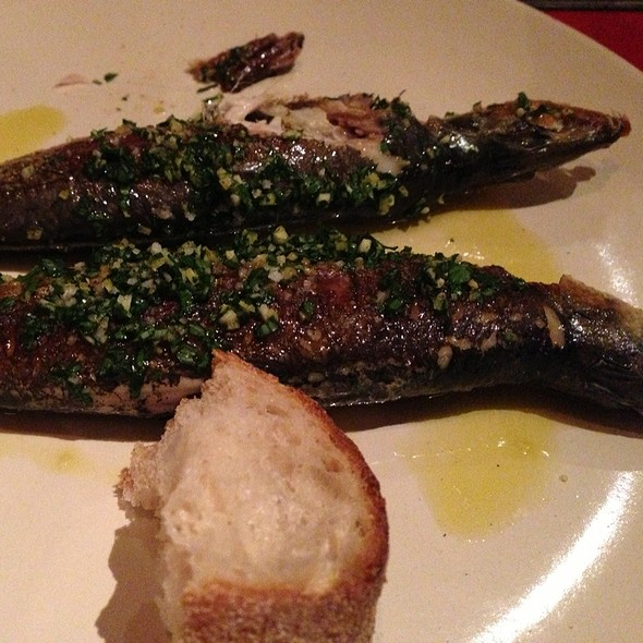 Sardines With Lemon, Parsley And Garlic @ Green Man & French Horn