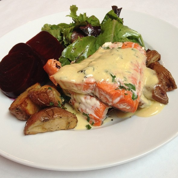 Wild Sockeye Salmon @ Boat Street Cafe
