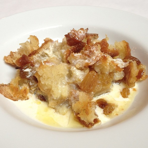 Amaretto Bread Pudding @ Boat Street Cafe