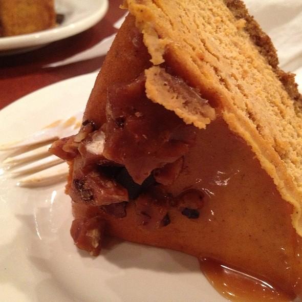Pumpkin Cheesecake @ The Coffee Quarter