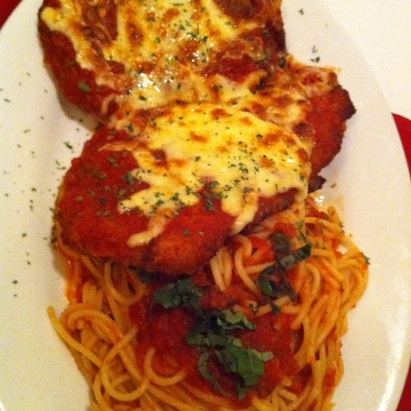 Chicken Parmigiana @ Fat Angelo's