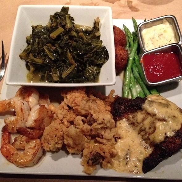 Gulf Coast Sampler Seafood