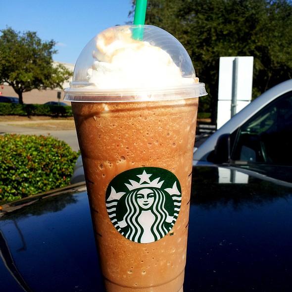 Salted Caramel Biscotti Frappuccino @ Starbucks