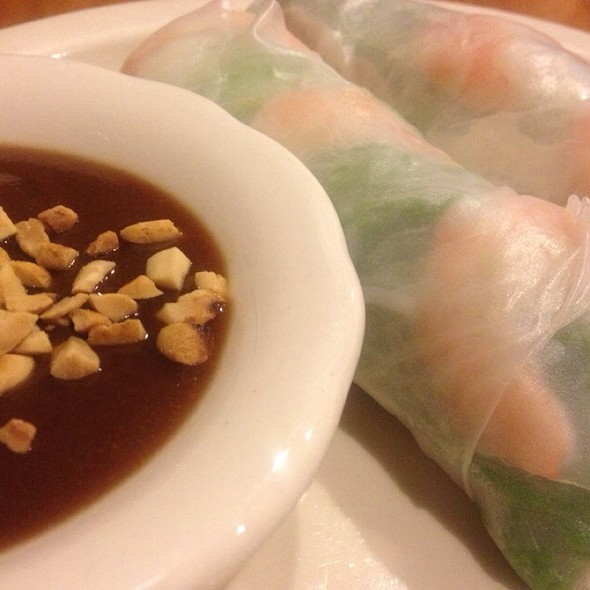 Fresh Spring Rolls @ Pho Far East Inc