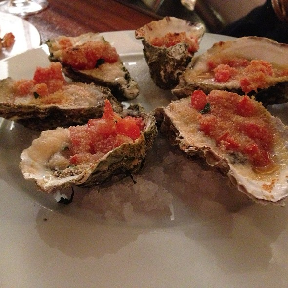 Grilled Oysters @ Ivans Oyster Bar and Grill