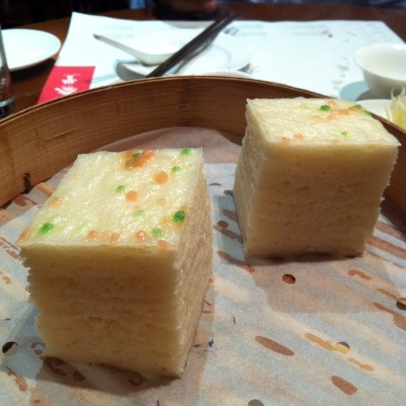 Steamed Rice Cake @ Din Tai Fung