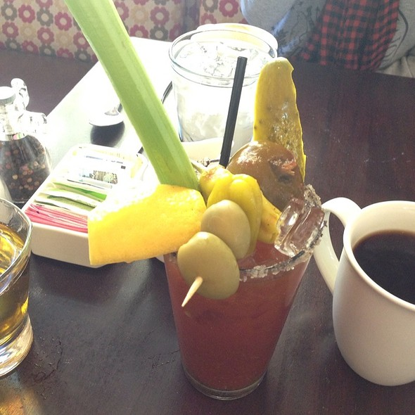 Trinity Spiced Bloody Mary @ Stephi's on Tremont