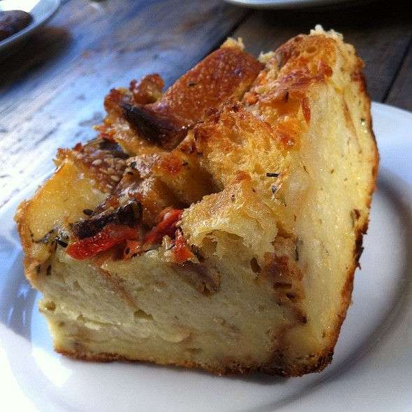 Savory Bread Pudding @ Thorough Bread and Pastry