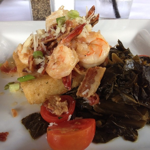 Shrimp & Greens & Grits. @ Belford's Savannah Seafood & Steaks
