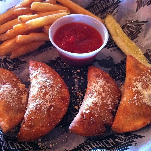 empanadas @ Warren Diner