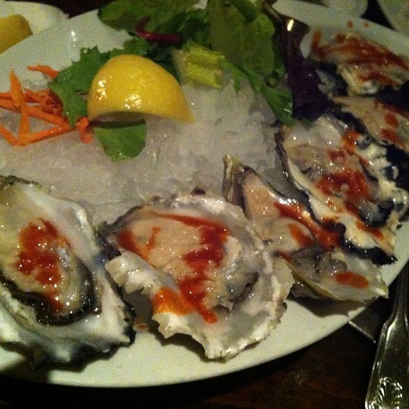 Oysters - Old Fisherman's Grotto, Monterey, CA
