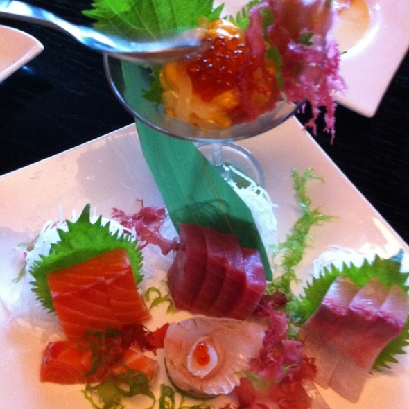 Nigiri Sushi @ Shiki Bistro