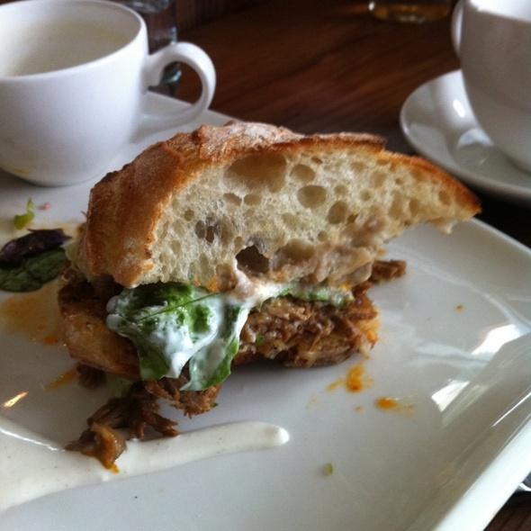 Beef Barbacoa Sandwich @ Gather