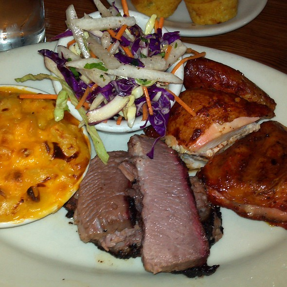 Brisket And Chicken @ Lambert's Downtown Barbeque