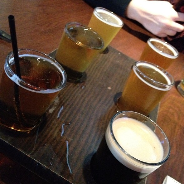 Beer Sampler @ Cannery Row Brewing Company