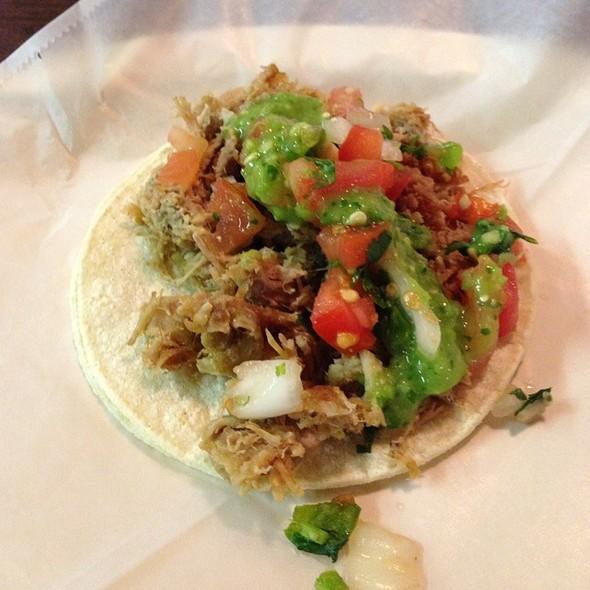carnitas tacos @ Fiesta Taco