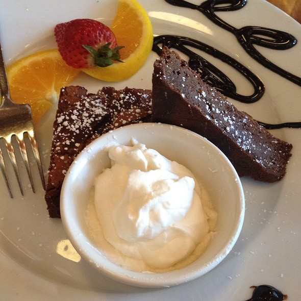 Double Chocolate & Bacon Brownie With Jack Daniels Whipped Cream @ Sage General Store