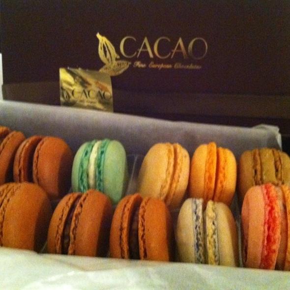 Macarons @ Cacao