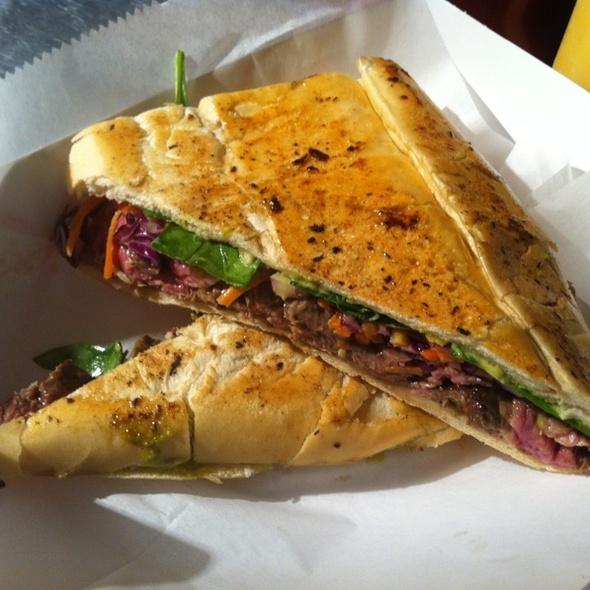 Skirt Steak Sandwich @ Gastropod Miami
