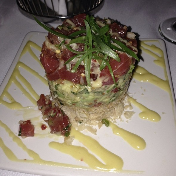 Big Eye Tuna Tataki - Mastro's Steakhouse - Costa Mesa, Costa Mesa, CA