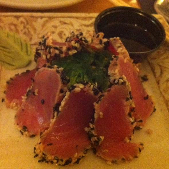 Sesame Crusted Ahi Tuna - Catches Waterfront Grille, Port Richey, FL