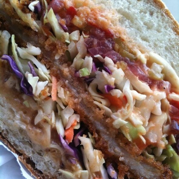 Pork Katsu Sandwich @ Rhea's Deli